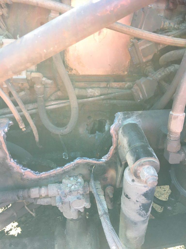 engine hole photo